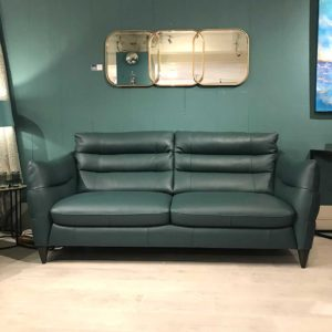 Firenze contemporary leather sofa in large
