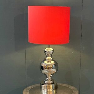 Cody Polished Nickel Table Lamp