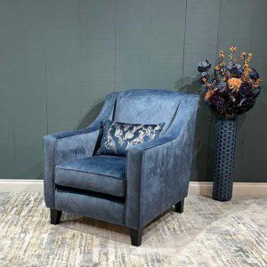 Hatton Cushion Back Armchair
