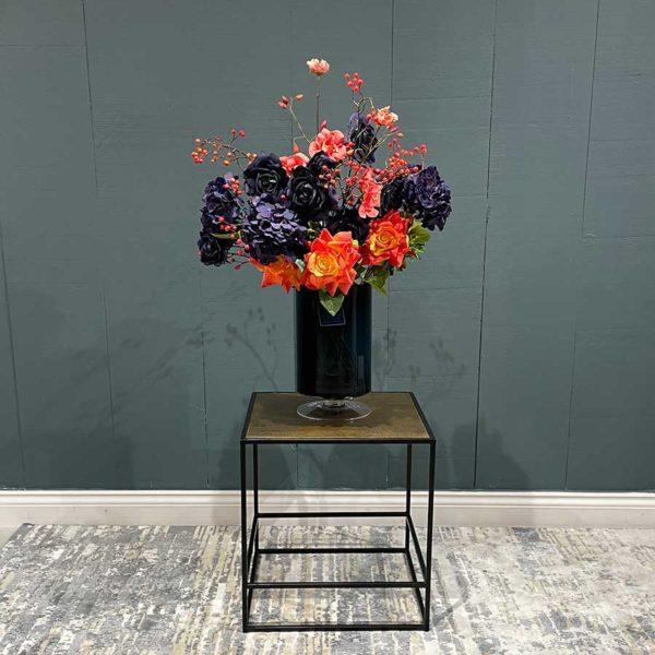 Hudson Bronzed Side Table