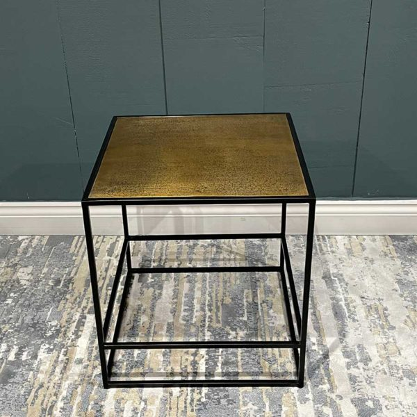 Hudson-Bronzed-Side-Table-Plain