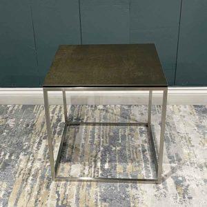 Juno Ceramic side table plain