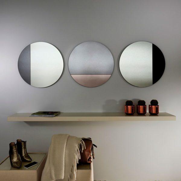 Ligne-Circular-Bronze-Mirror-Lifestyle