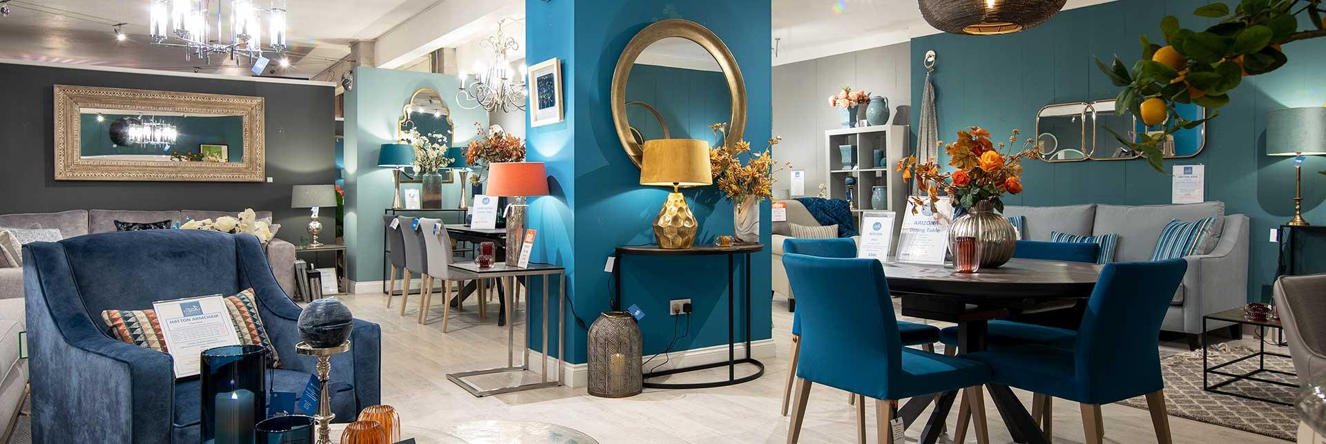 New England Home Interiors showroom interior
