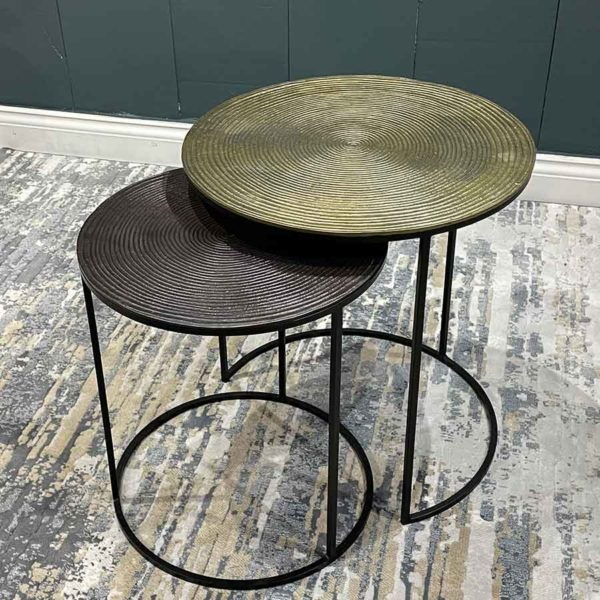 Togo Next of 2 side tables