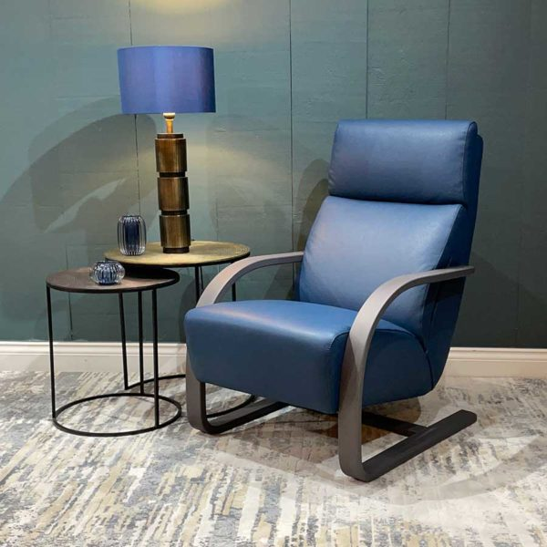 Stockholm Leather Armchair