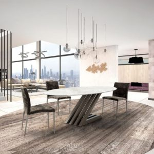 Zara Oval Dekton Landscape Lifestyle