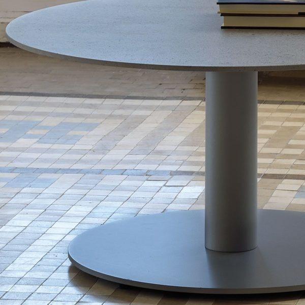Round Dekton Coffee Table Ambience close up
