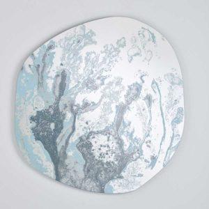 Flair Blue Mirror