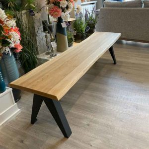 New-England-Solid-Oak-Bench