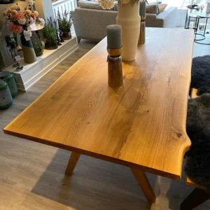 New-England-Solid-Oak-Dining-Table-Top