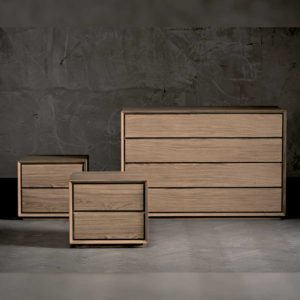 Venice Solid Oak Chest of Drawers