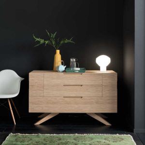 Rome solid Oak-Chest-of-Drawers
